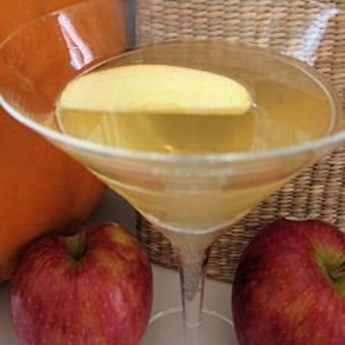 The Apple Pie martini is a nice twist on the usual Appletini.