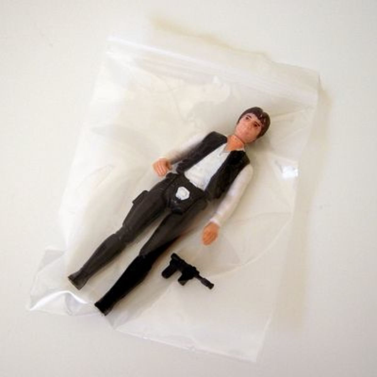 Ziploc plastic bags are perfect for storing action figures and accessories