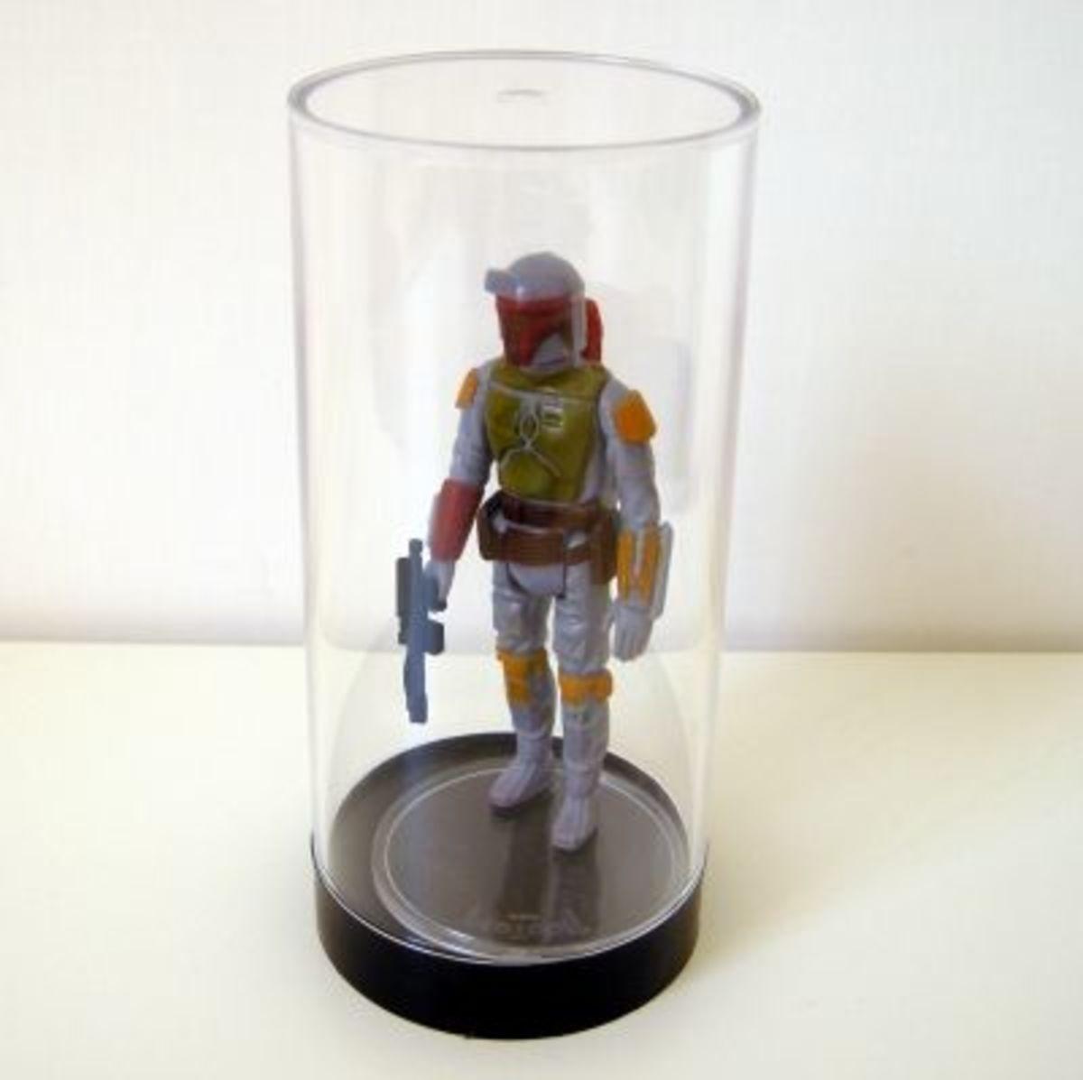 Protech display case for vintage Star Wars figures