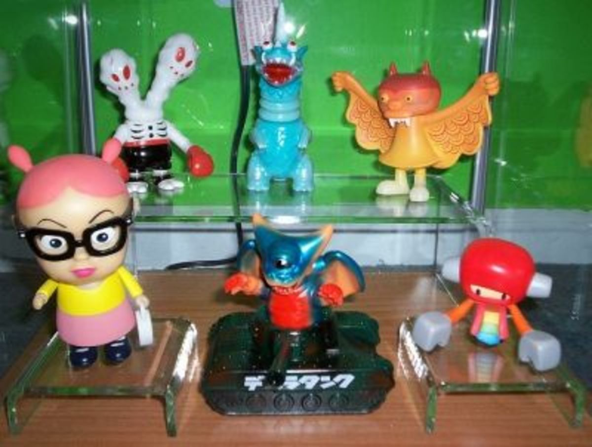 IKEA's Detolf display cabinets with acrylic risers really show off your action figure collection