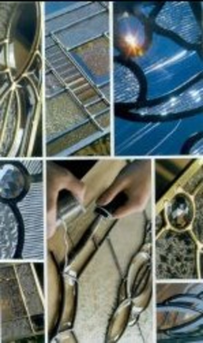 Decorative glass options for exterior doors