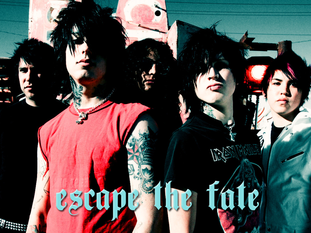 Escape the Fate (Ronnie Radke, Omar Espinosa, Max Green, Brian Monte, Robert Ortiz)
