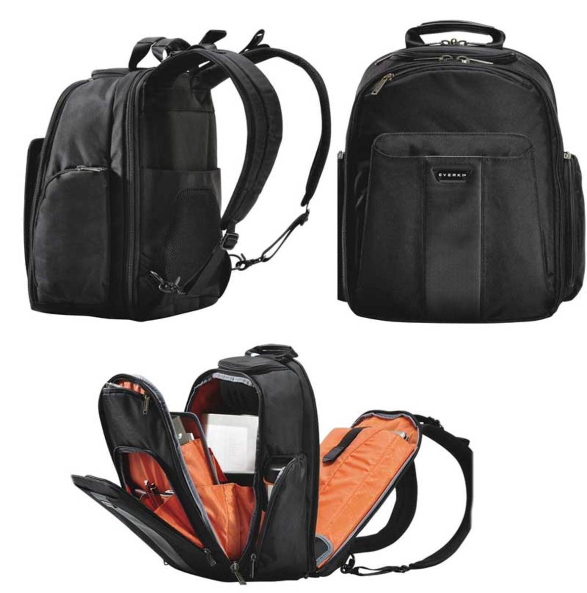 Easy access Everki backpack