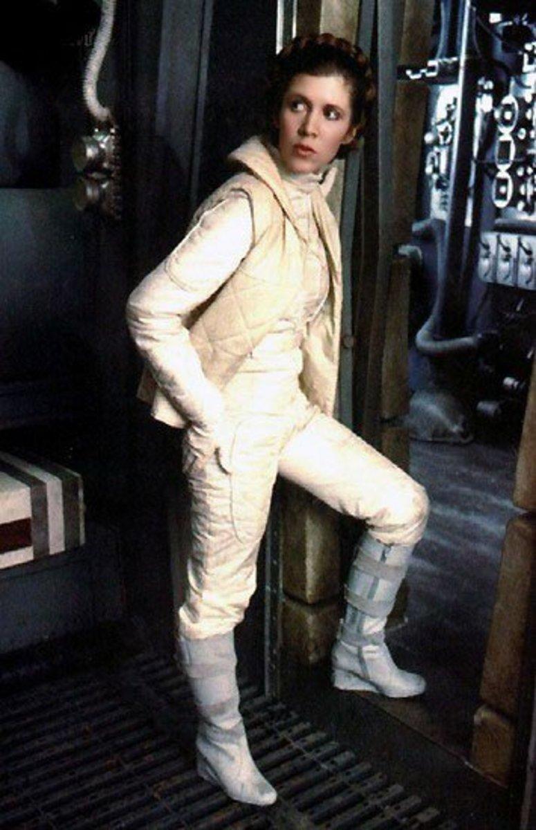 Leia on Hoth