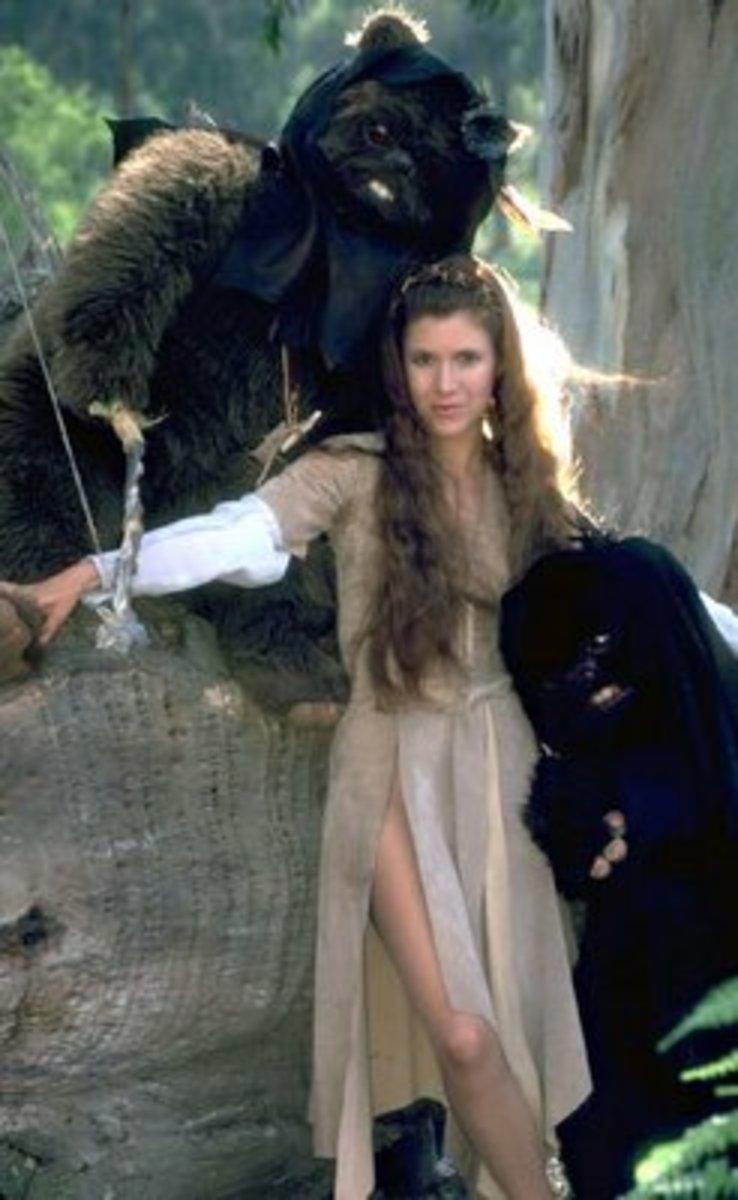 Leia and Ewoks