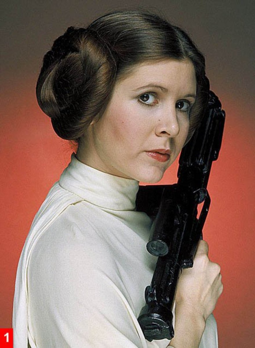 The Costumes of Star Wars - Princess Leia