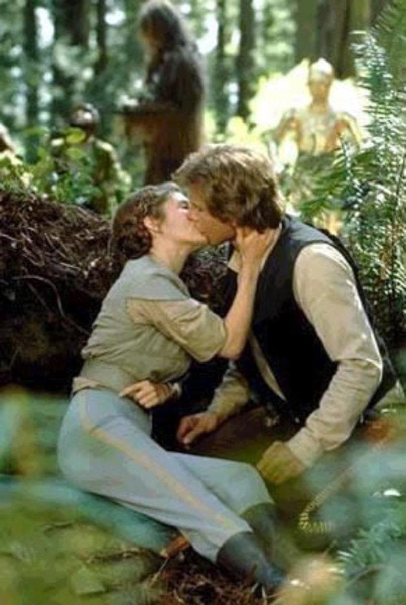 Leia and Han Solo