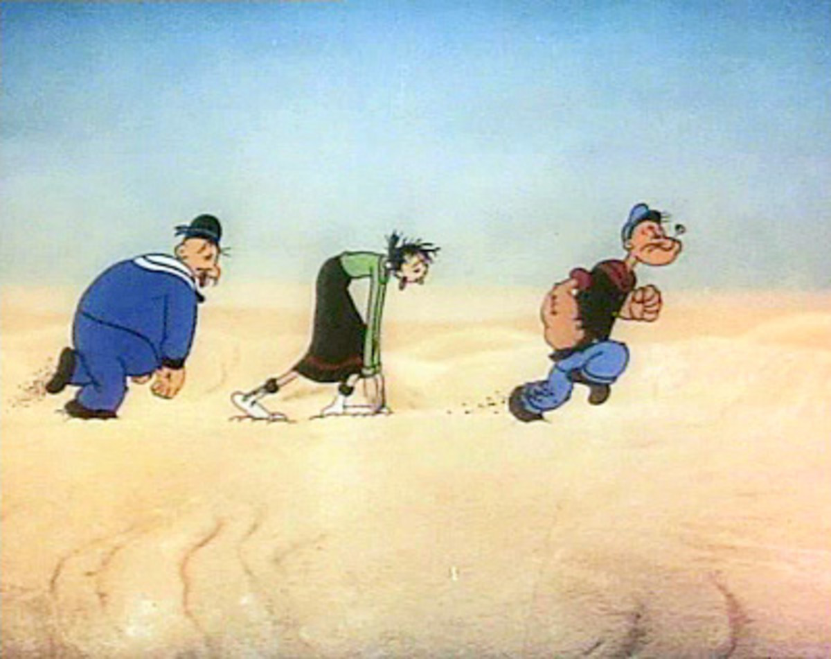 Popeye Meets Ali Baba's Forty Thieves (1937)