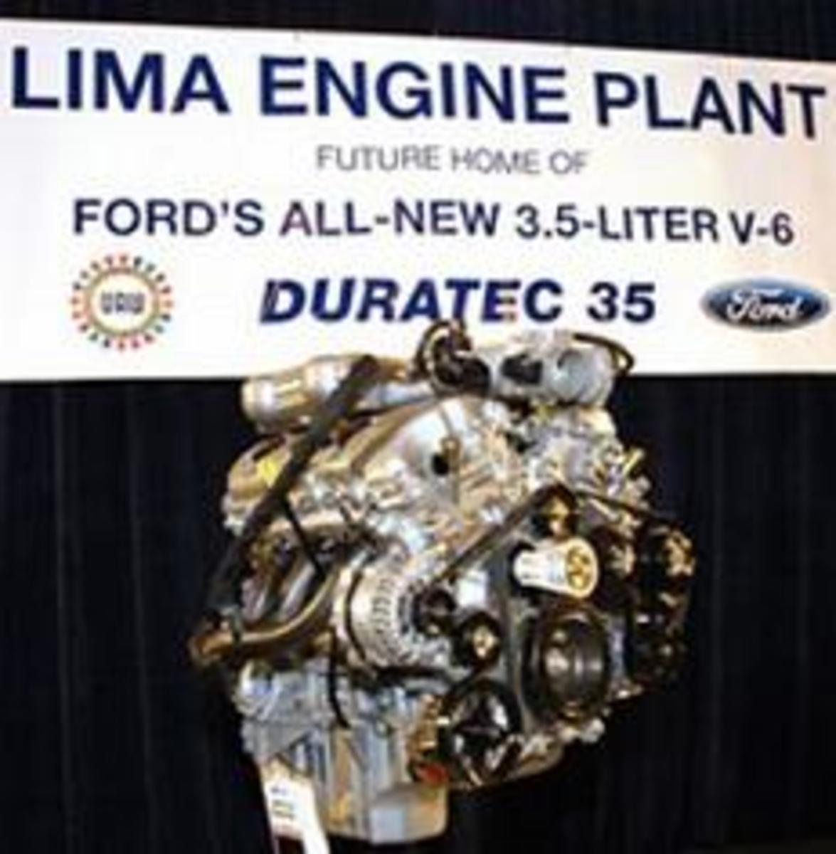 Duratec 35 V6 at Ford Lima Engine Plant reveal