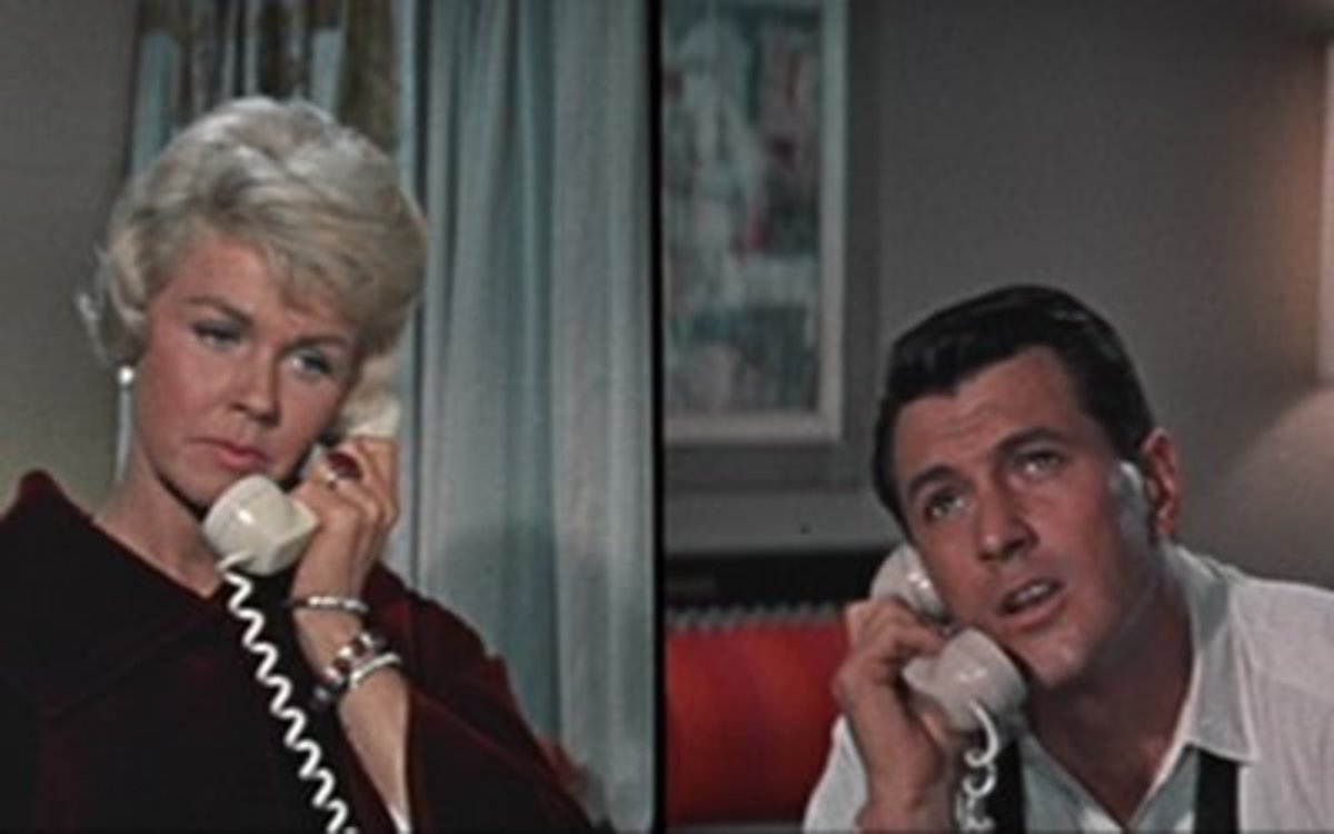 How Many Movies did Doris Day and Rock Hudson make together?