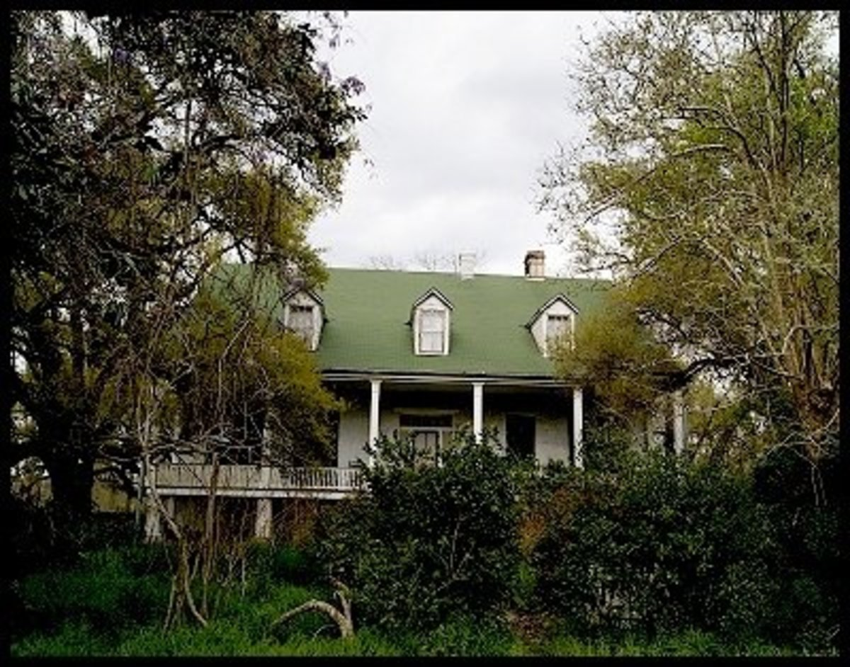 The Haunting of Magnolia Plantation Louisiana