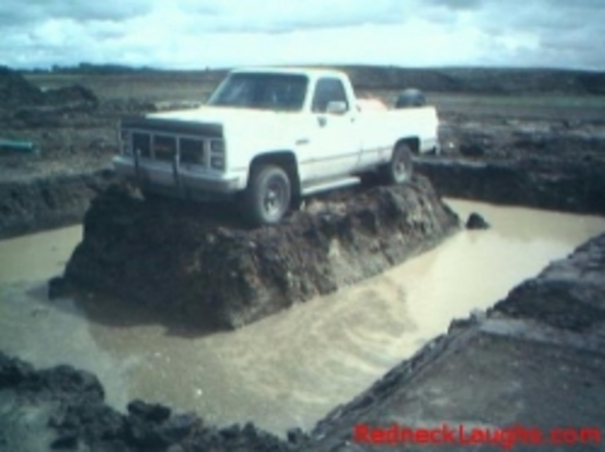 redneck pick-up prank