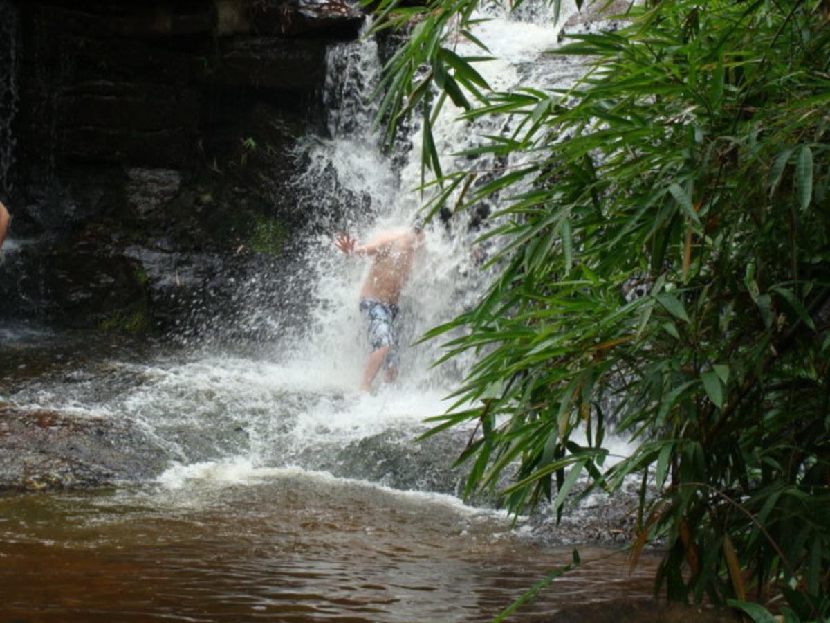Waterfall in Kirirom