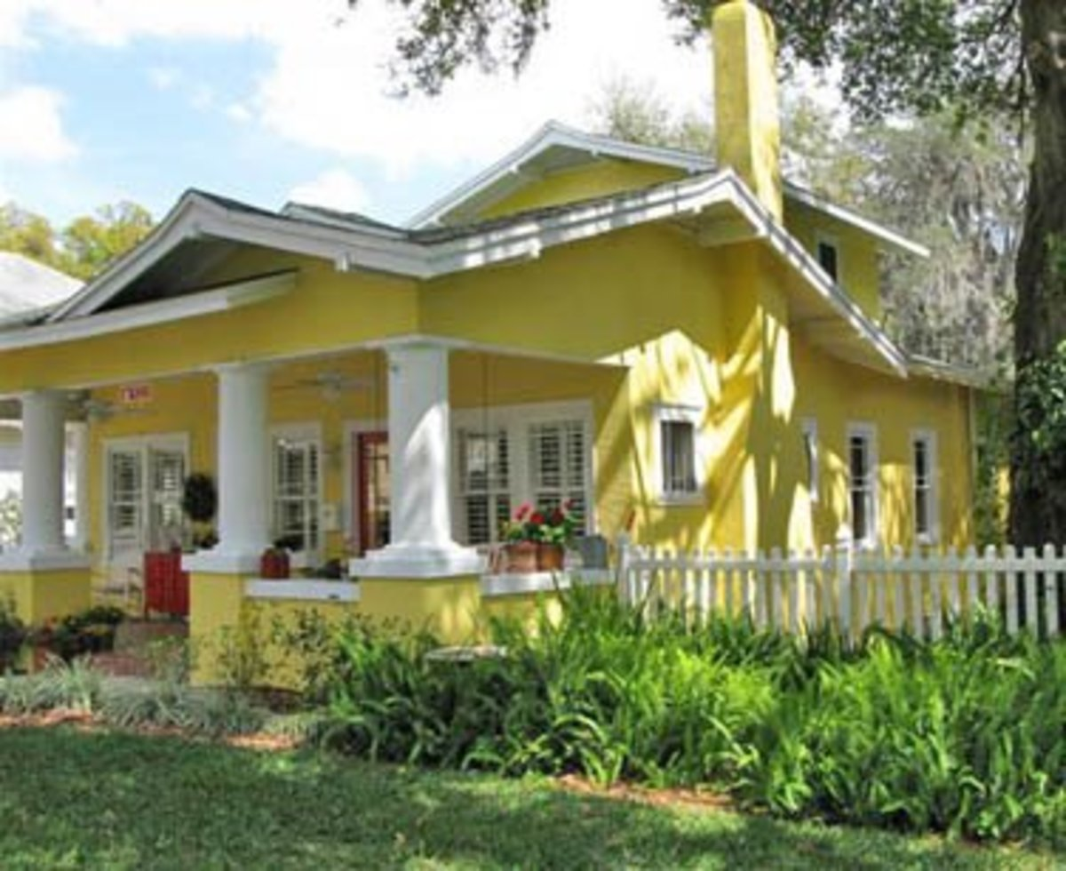 Home remodeling improvement bright tropical colors for Tropical exterior house colors