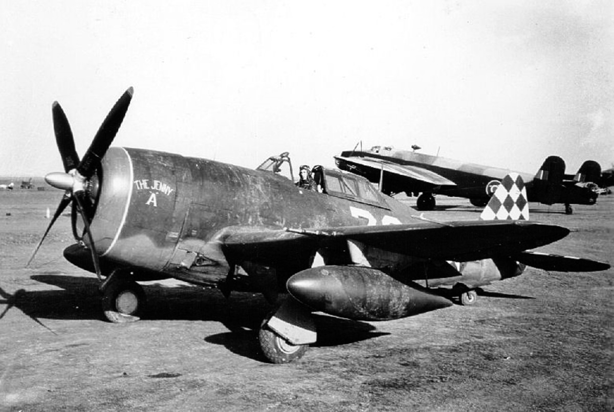 The P-47 Thunderbolt Fighter