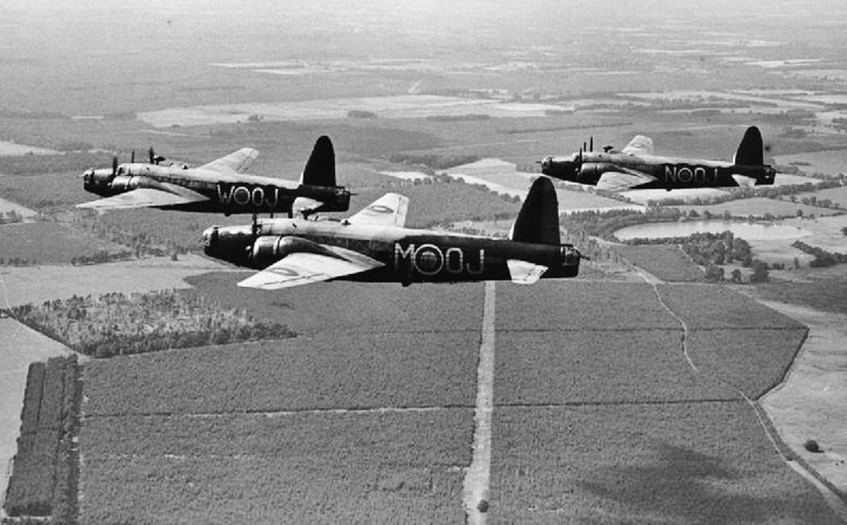 History of the Vickers Wellington Bomber