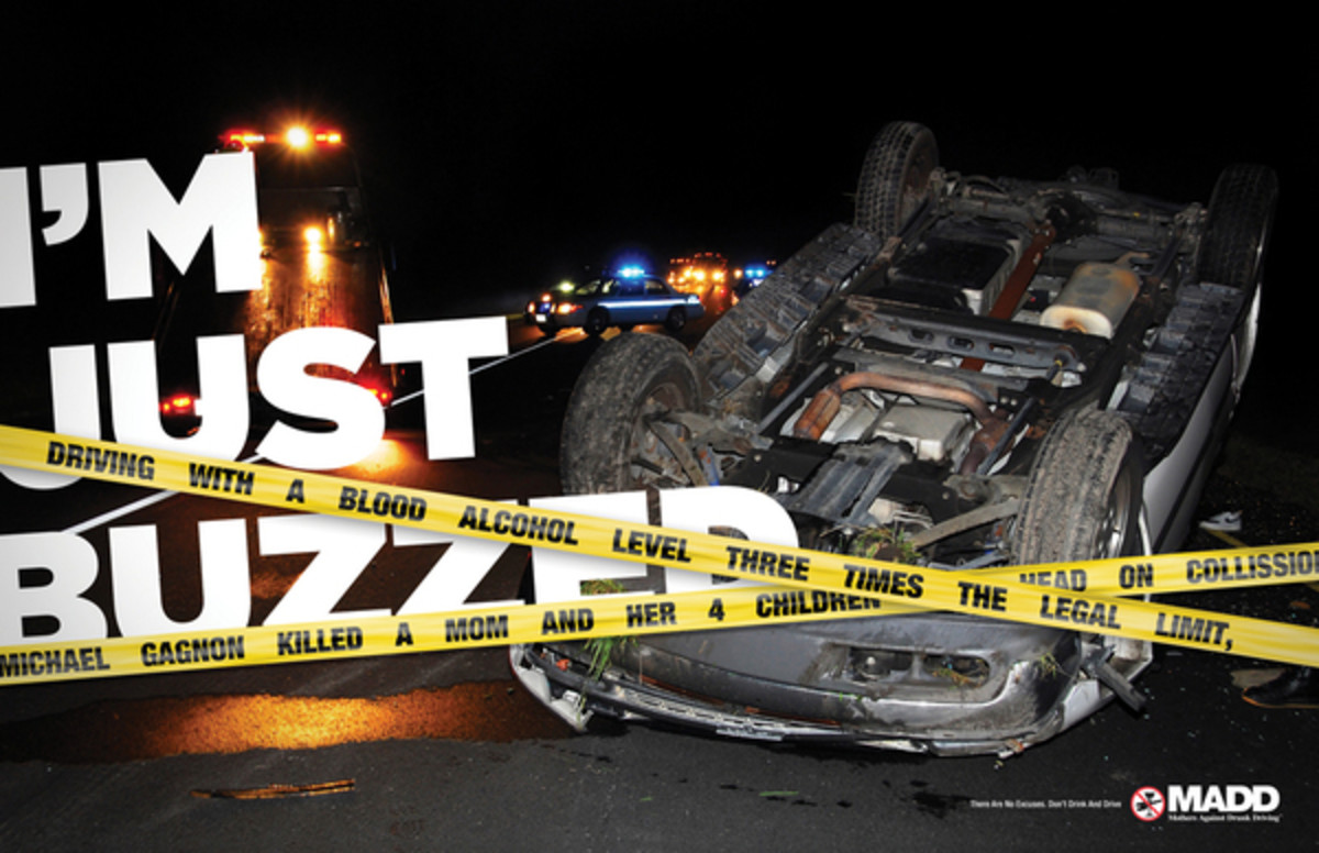 Drunk driving pictures:  not a pretty sight, huh?