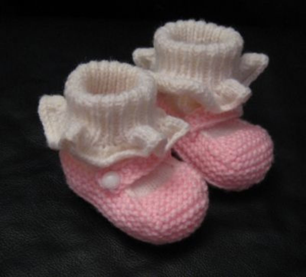 Pink Mary Jane shoes/booties.