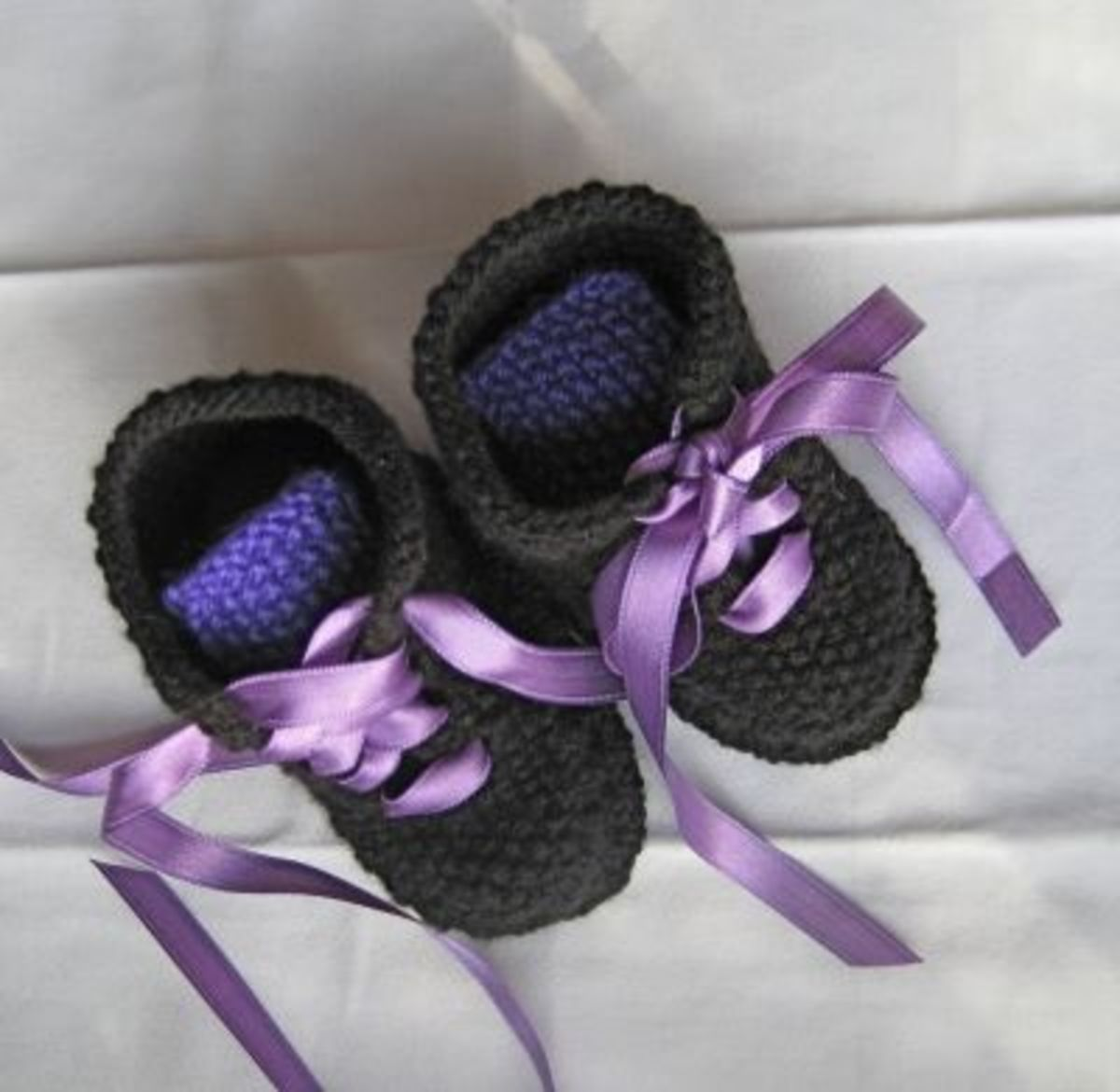 Black and Purple Doc Martin Boots style