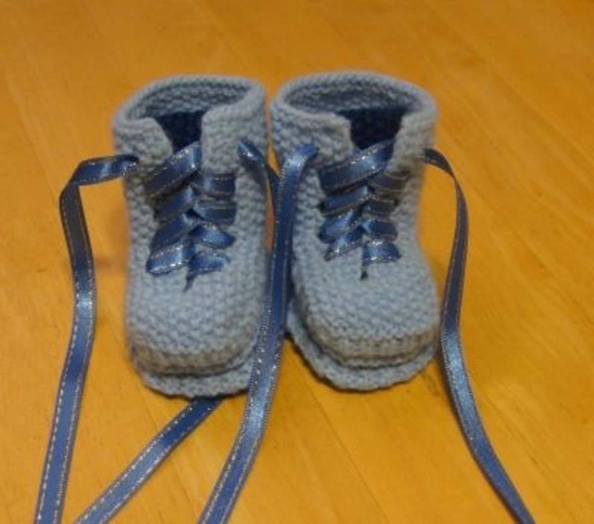 Blue Doc Martin Baby Boots