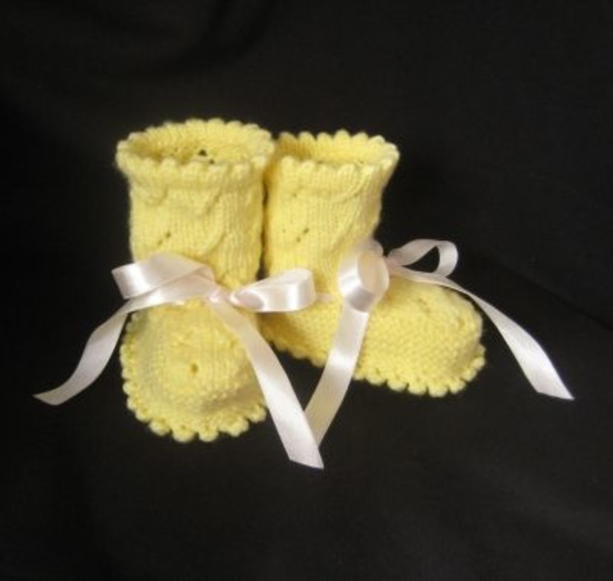 Baby Yellow booties