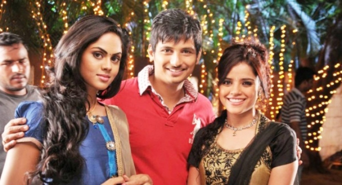ko film latest stills jeeva, karthika nair and piyea