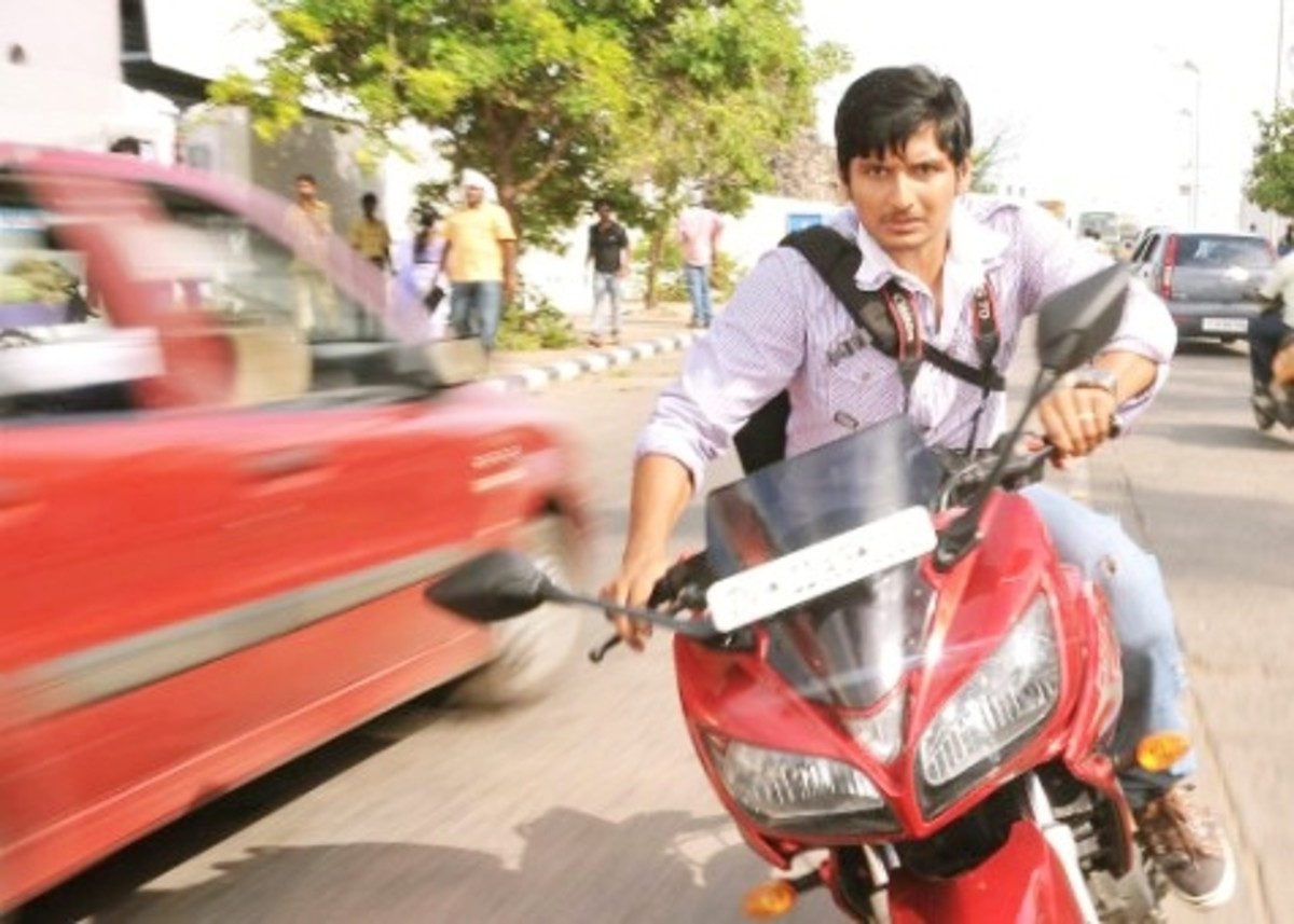A still from KO Film (Jeeva)