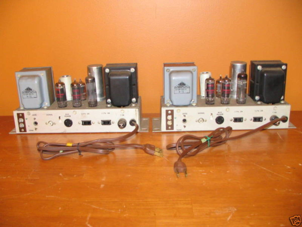 Vintage Ampex Amps