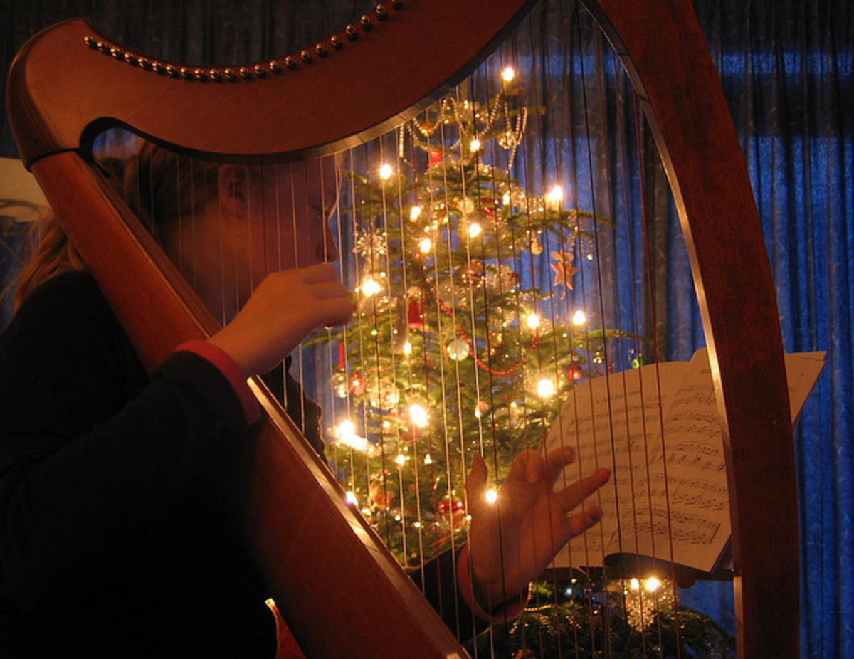 Learn to Identify Musical Intervals from Seasonal Music:  Religious Christmas Songs