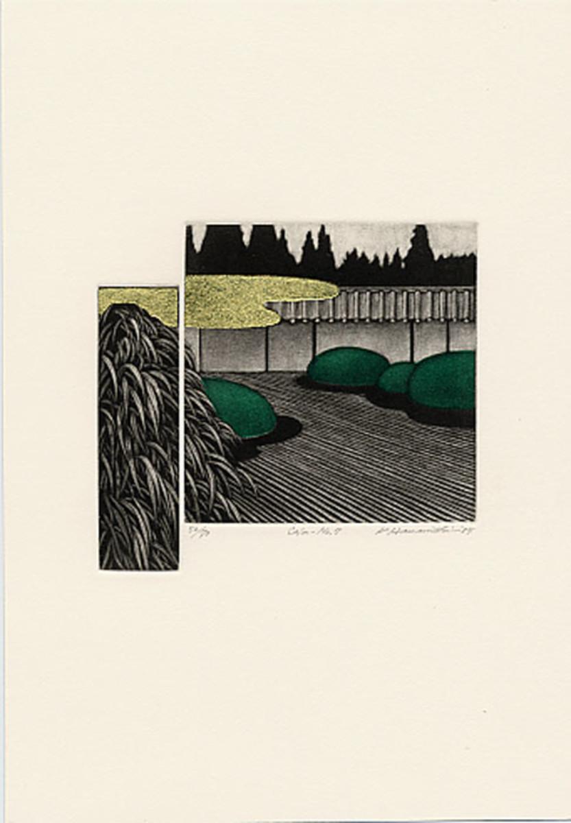 Calm 7 - by Katsunori Hamanishi