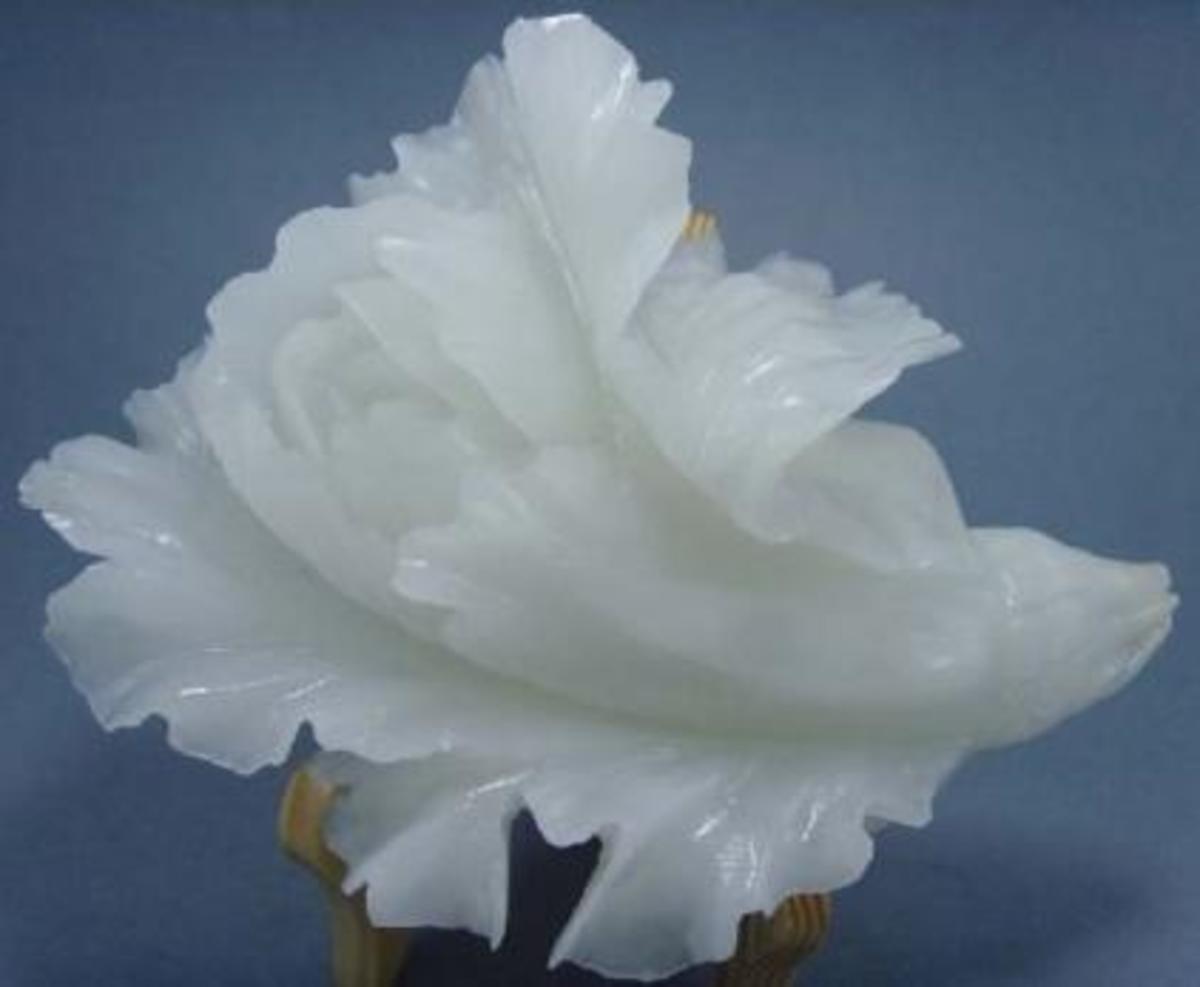 Afghan White Jade