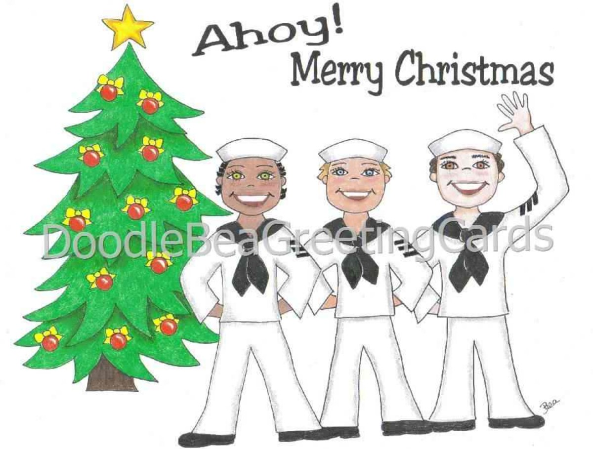 Merry Christmas, Sailors!