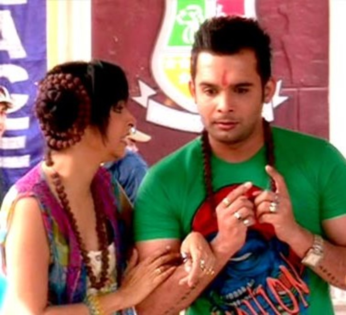 Made for each other Couple in College - Ruhi and Angad