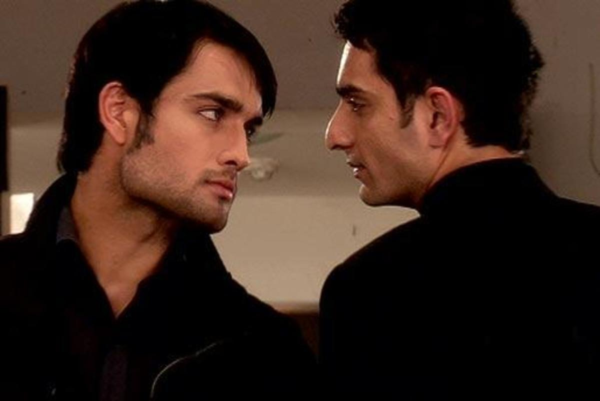 Desi Stefan and Damon (Abhay Richand and Siddharth Mehra) - Vivian Dsena and Siddhant Karnick