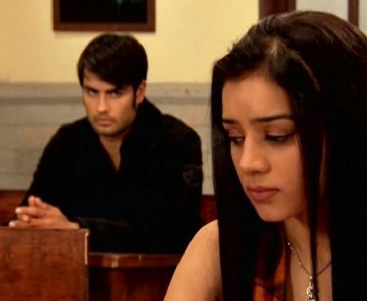Abhay and Piya in the class