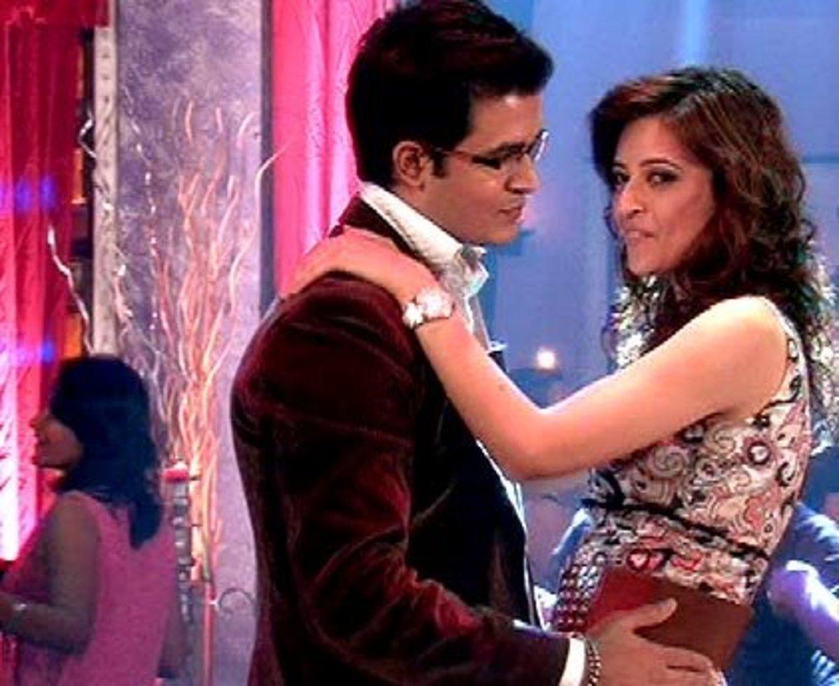 Shankar and Misha Dancing at Siddharth Mehra's Party