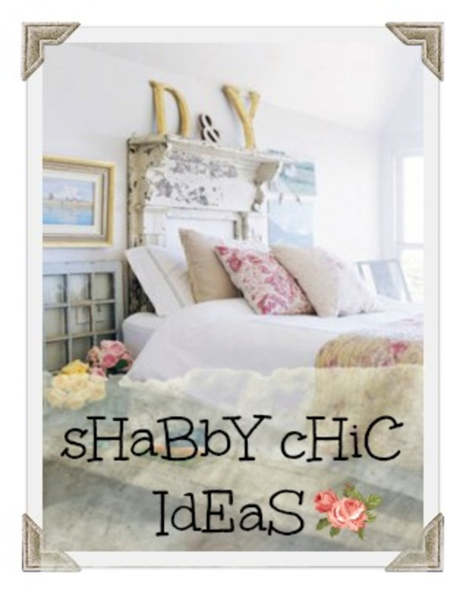 Ideas for decorating your bedroom in Shabby Chic - French Country style. Photos, tips and advice on this beautiful decorating style.
