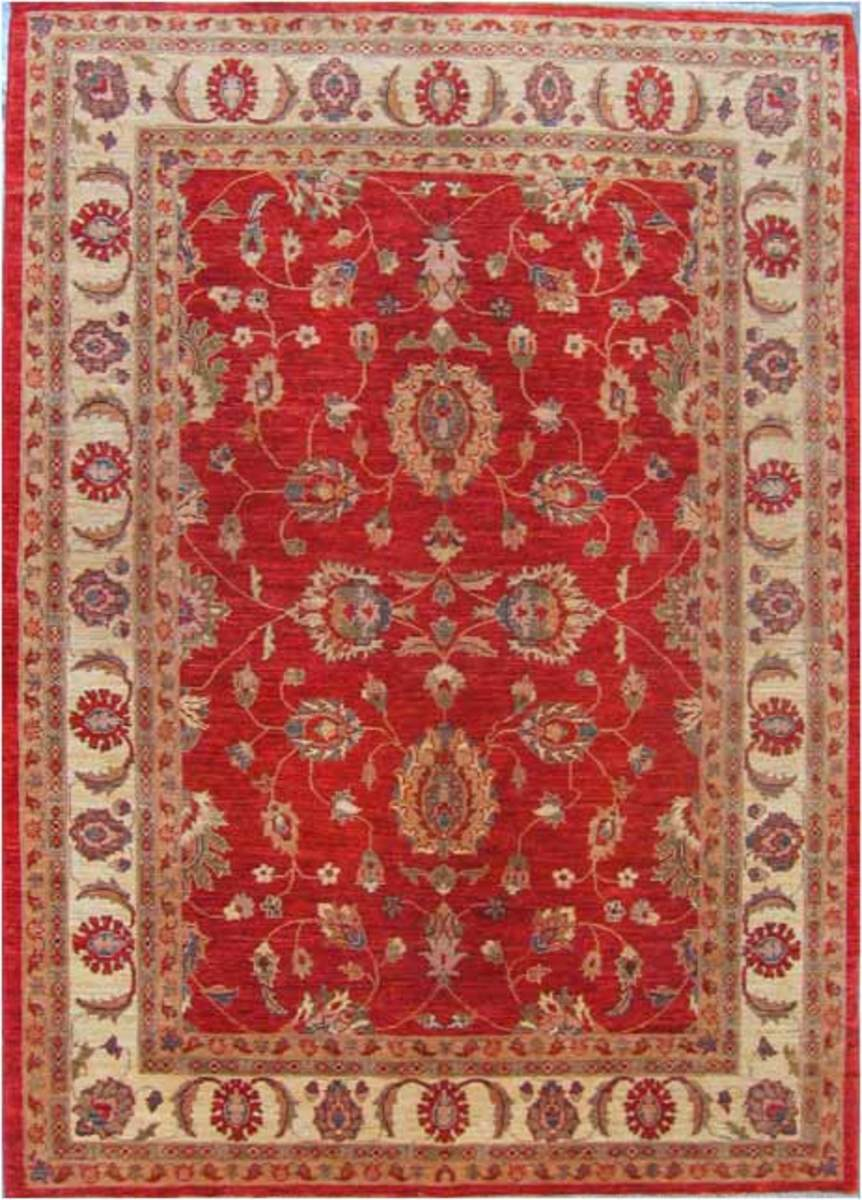 A beautiful rug with French inspired colors can add a dramatic flair to a shabby Chic French inspired room. Fine Peshawar Rug by Grillo Rugs is licensed under CC BY 2.0