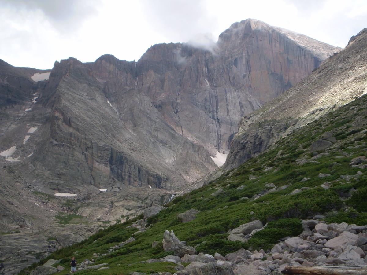 East face of Longs Peak.