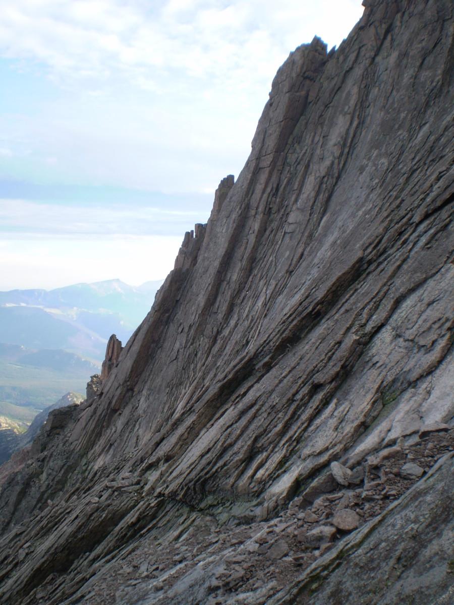 The Trough, Longs Peak.