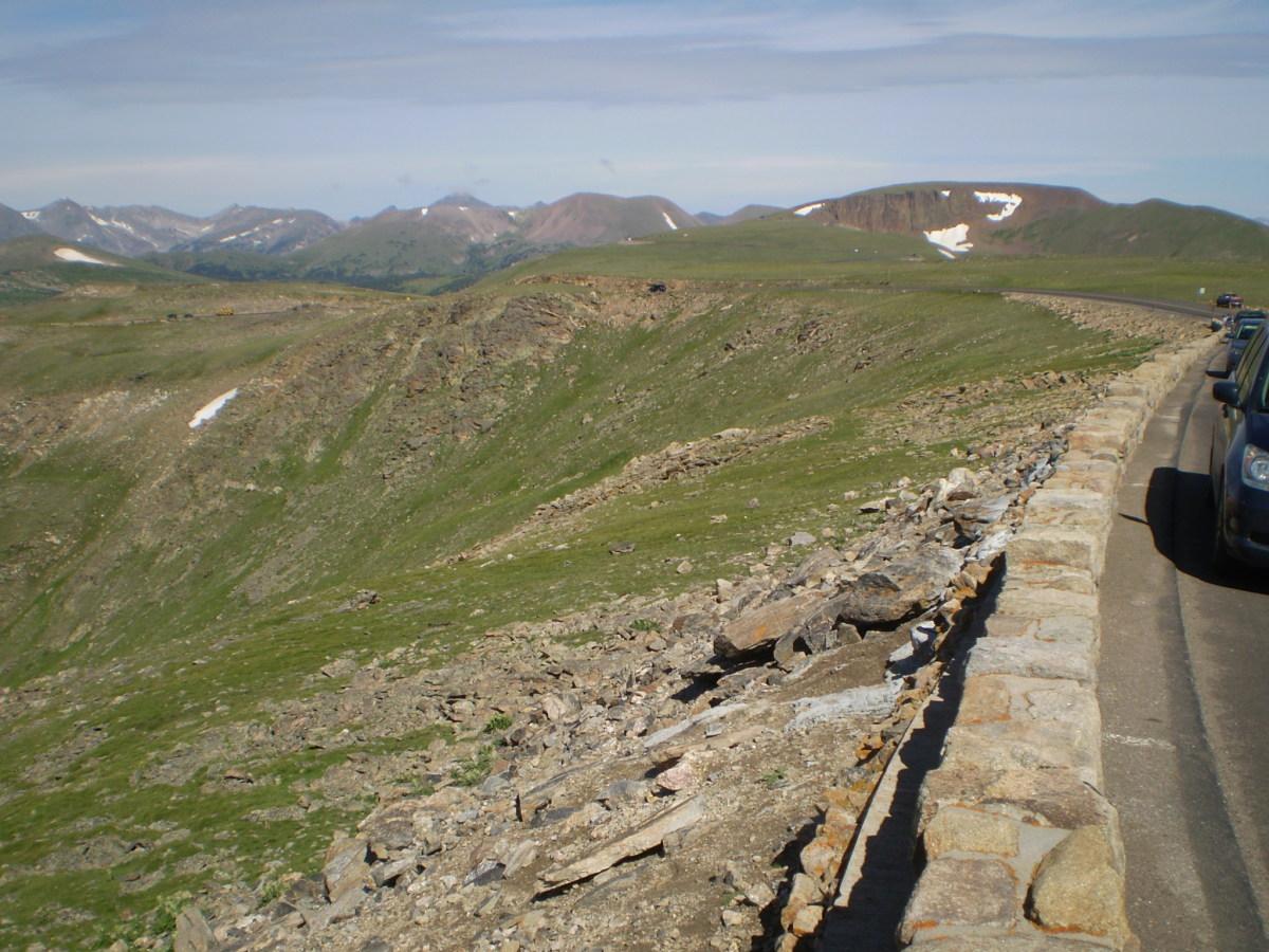 Trail Ridge Road highpoint.
