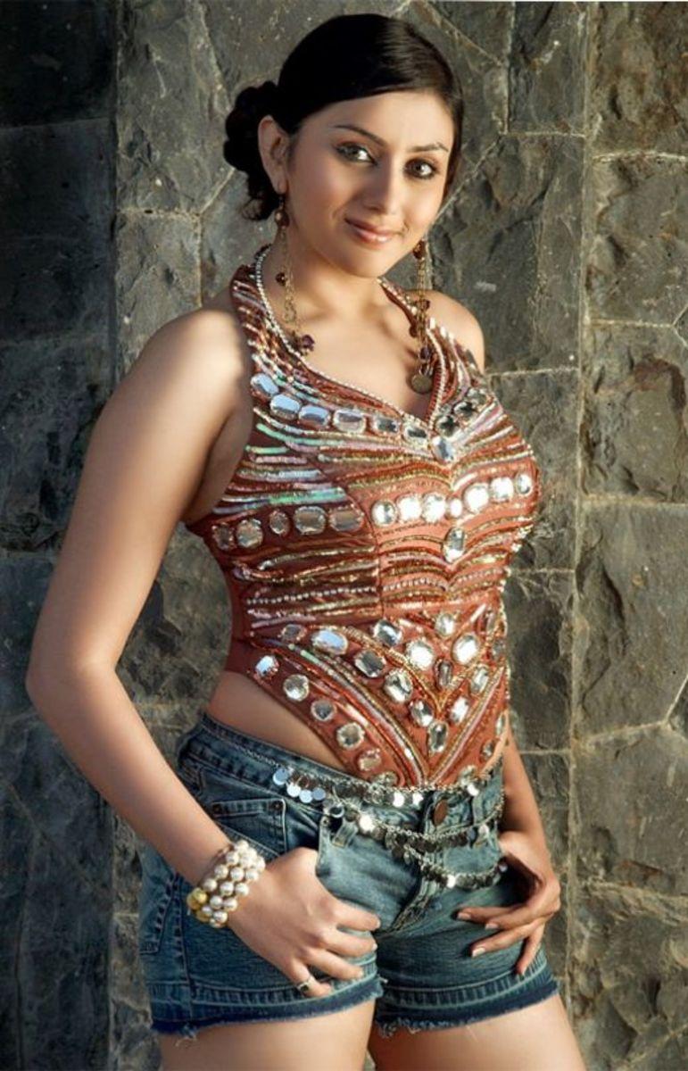 Actress Namithain in Shorts