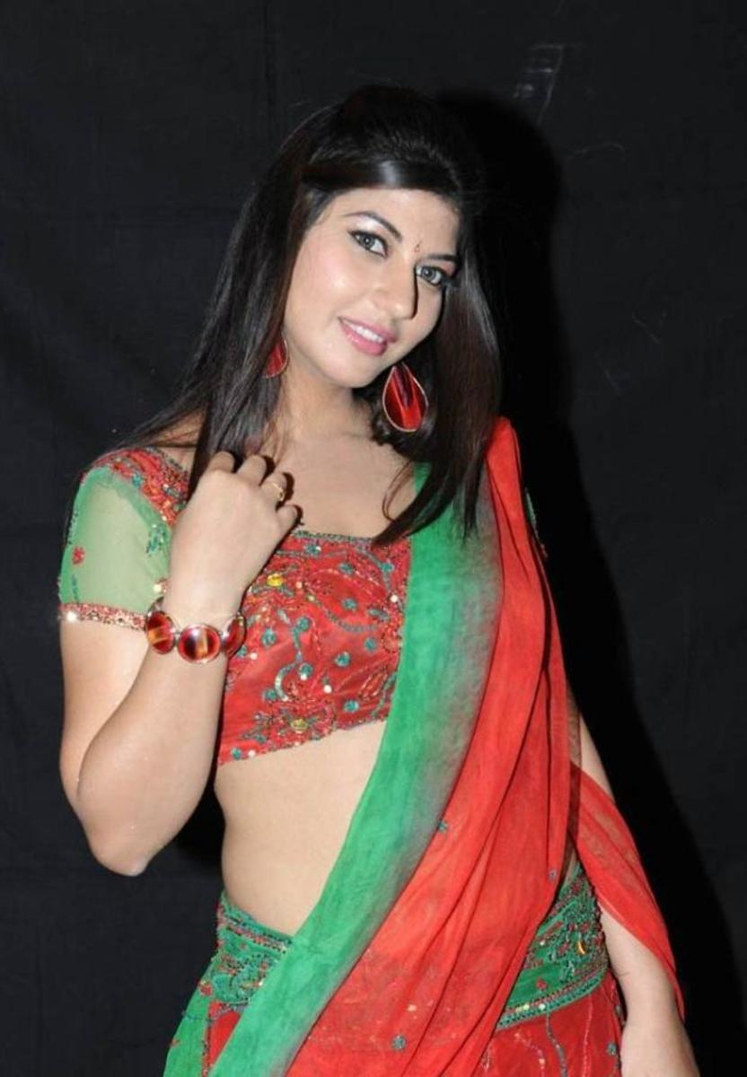 Navel south indian hot housewife