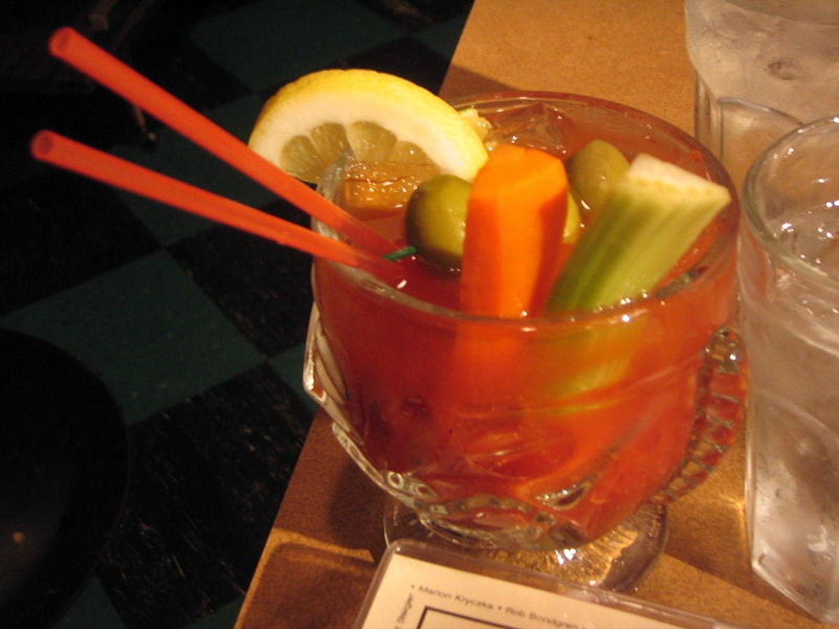 A Bloody Mary photo from Wikimedia Commons