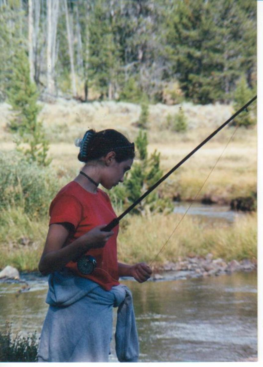 Miss Smith #2  Fishing Indian Creek