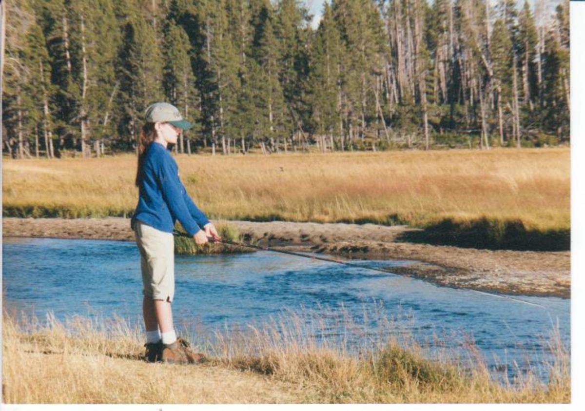 Fishing The Gibbon River