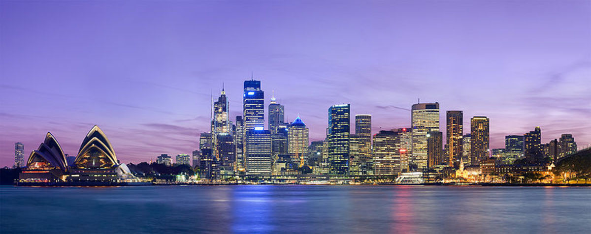 Sydney in night