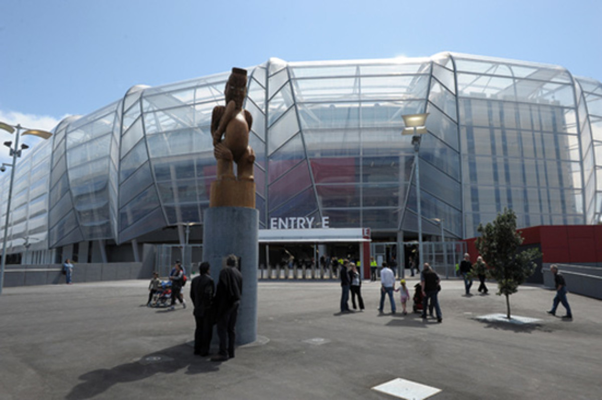 Eden Park in Auckland is hosting 2011 Rugby World Cup