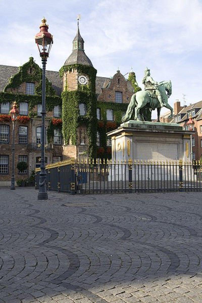 Dusseldorf historic townhall