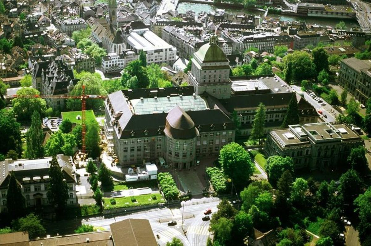 Main Building of University of Zurich